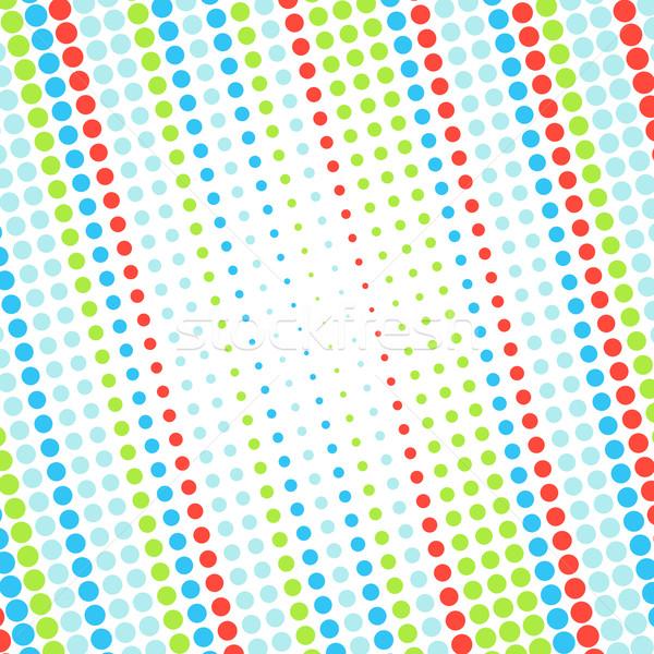 Abstract punteggiata colorato texture business design Foto d'archivio © karandaev