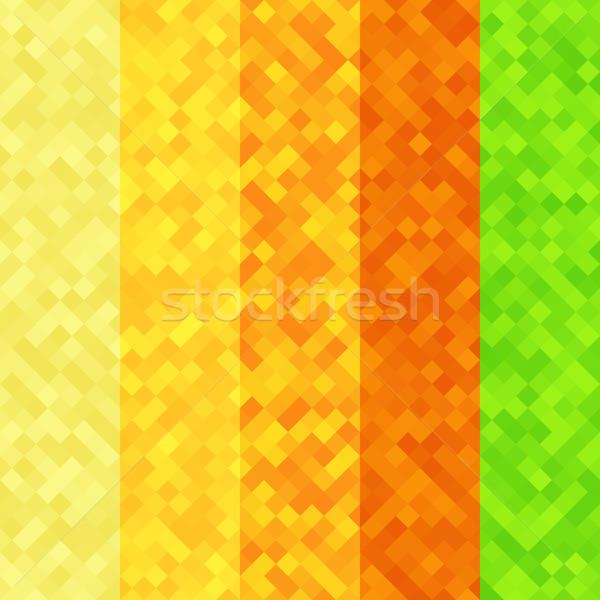 Foto d'archivio: Abstract · pixel · colorato · texture · business · design