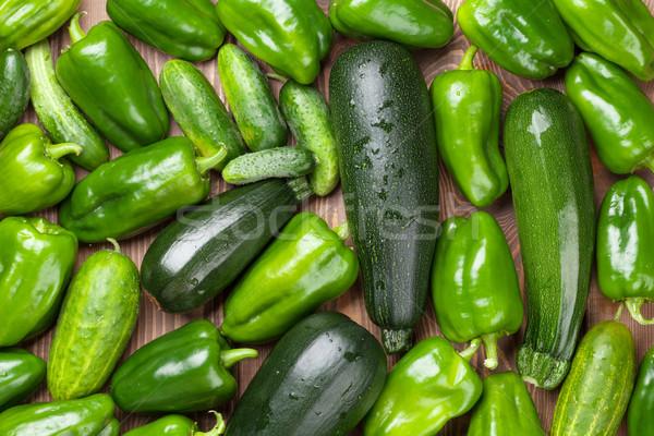 Fresh farmers garden vegetables Stock photo © karandaev