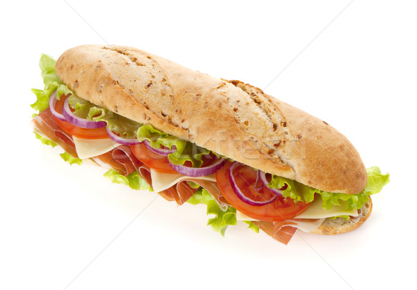 Long sandwich Stock photo © karandaev