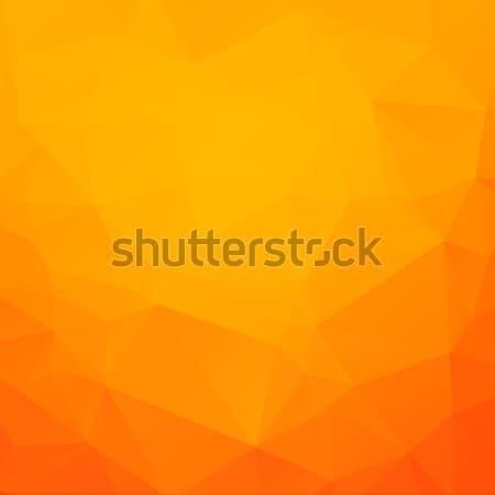 Streszczenie trójkąt mozaiki gradient kolorowy komputera Zdjęcia stock © karandaev