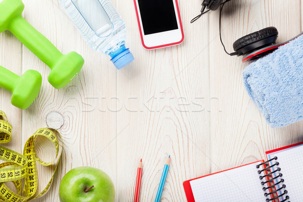 Health and fitness concept Stock photo © karandaev