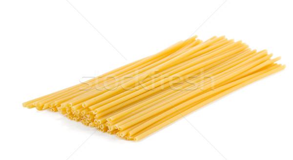 Hoop spaghetti geïsoleerd witte achtergrond kleur Stockfoto © karandaev