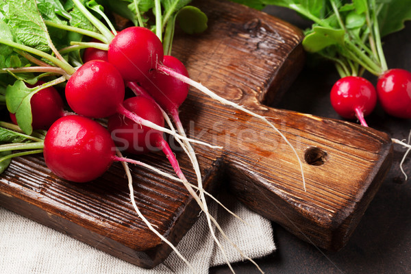 Garden radish Stock photo © karandaev