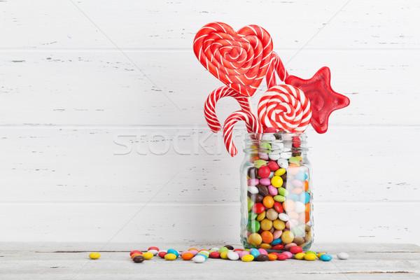 Chocolate sweets Stock photo © karandaev