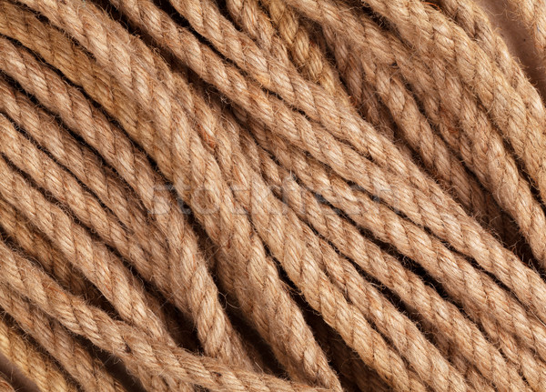 Old marine rope  Stock photo © karandaev