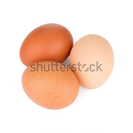 Three eggs Stock photo © karandaev