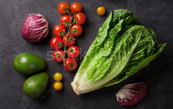 Fresh vegetables Stock photo © karandaev