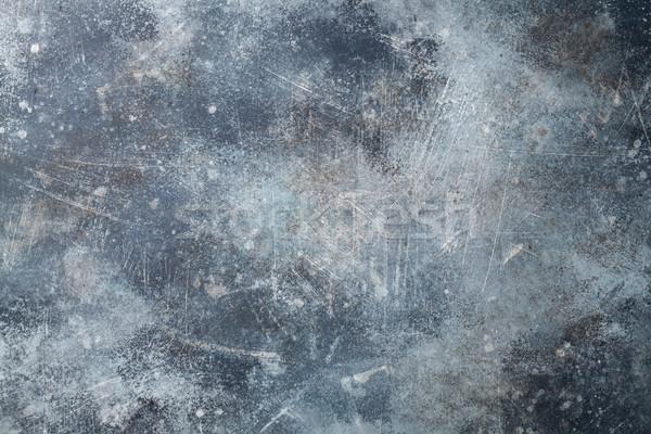 Enferrujado textura do metal velho fundo metal indústria Foto stock © karandaev