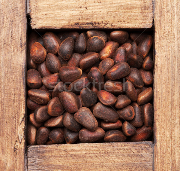 Pine nuts Stock photo © karandaev