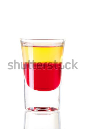Shot cocktail collection: Red Tequila Stock photo © karandaev