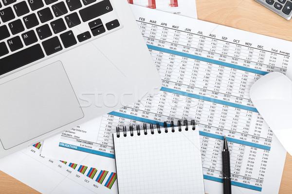 金融 論文 コンピュータ 事務用品 クローズアップ オフィス ストックフォト © karandaev