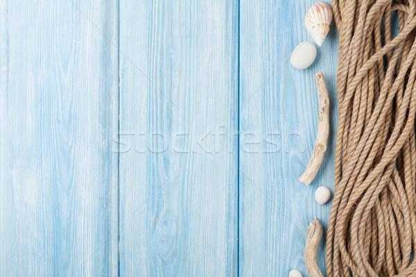 Morza wakacje morskich liny lata czasu Zdjęcia stock © karandaev