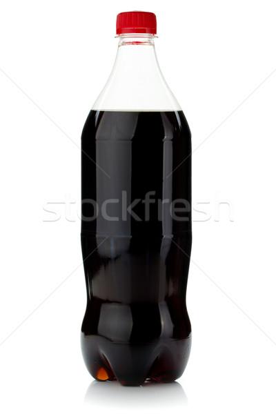 Cola butelki odizolowany biały owoców lata Zdjęcia stock © karandaev