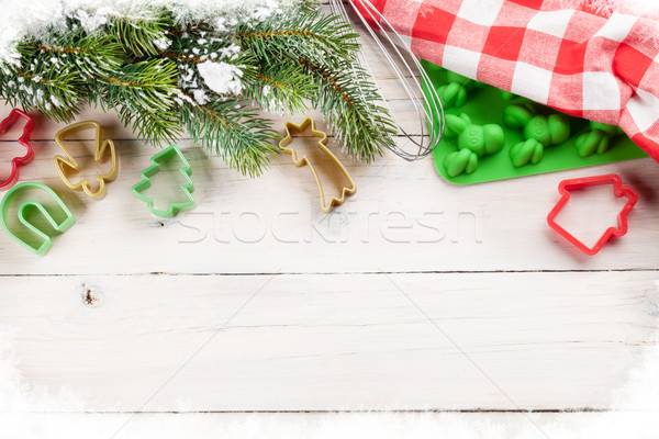 Christmas cooking utensils Stock photo © karandaev