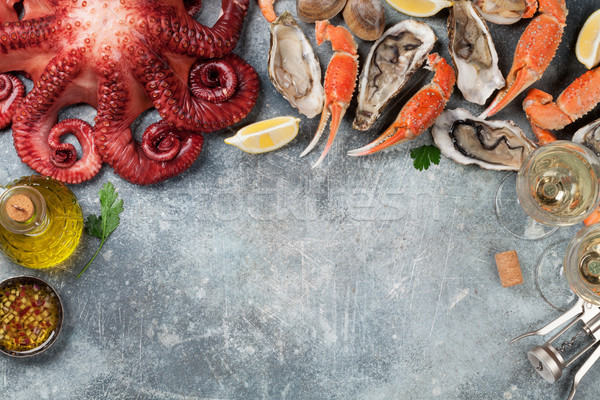 Seafood Stock photo © karandaev