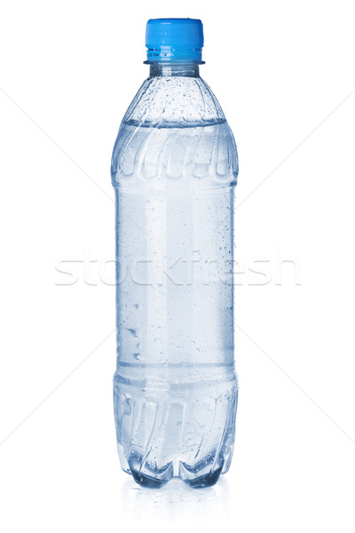 小 ボトル ソーダ 水 孤立した 白 ストックフォト © karandaev