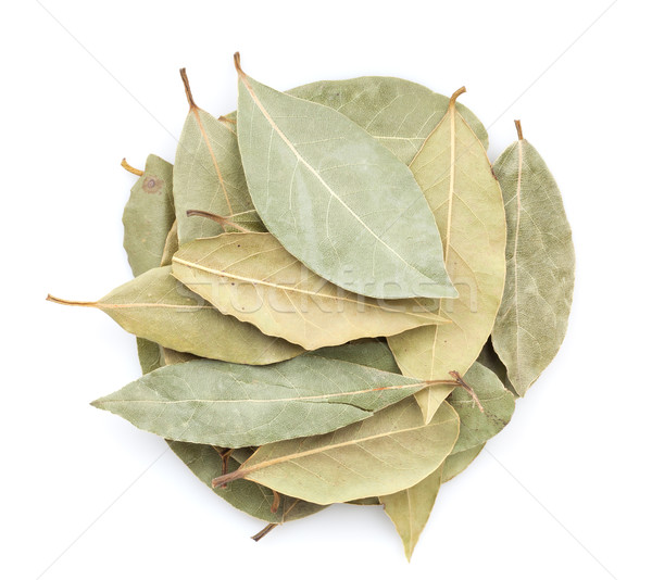 Stock photo: Aromatic bay leaves