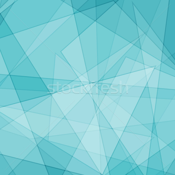 Abstract geometric outline background Stock photo © karandaev