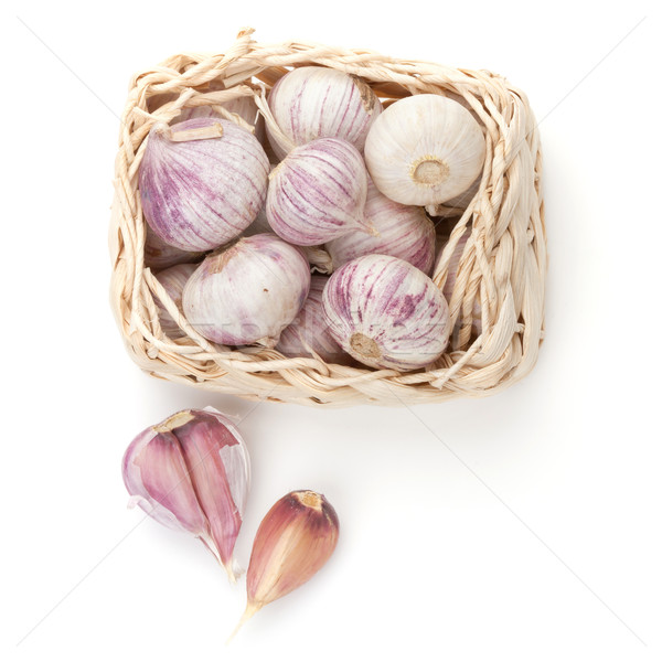 Garlic pack Stock photo © karandaev