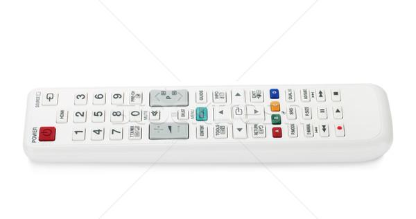 White TV remote control Stock photo © karandaev