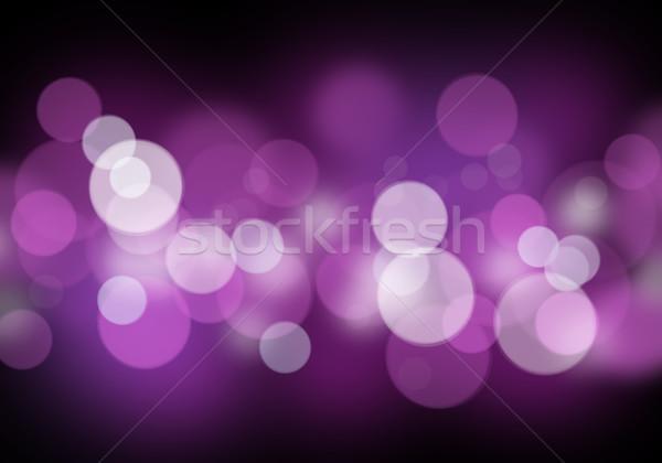 Bulanık bokeh soyut renkli ışık uzay Stok fotoğraf © karandaev