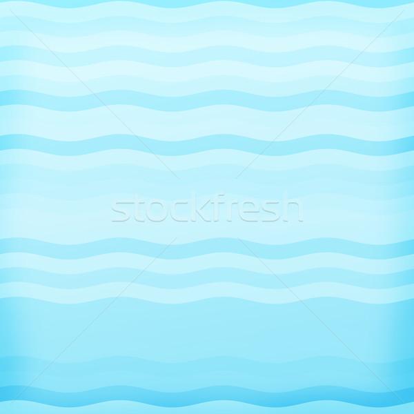 Abstract wave background Stock photo © karandaev