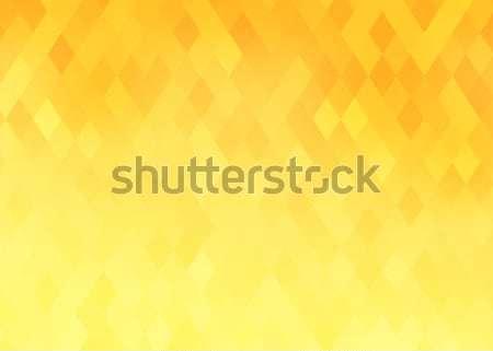 Abstract gradient rhombus background Stock photo © karandaev