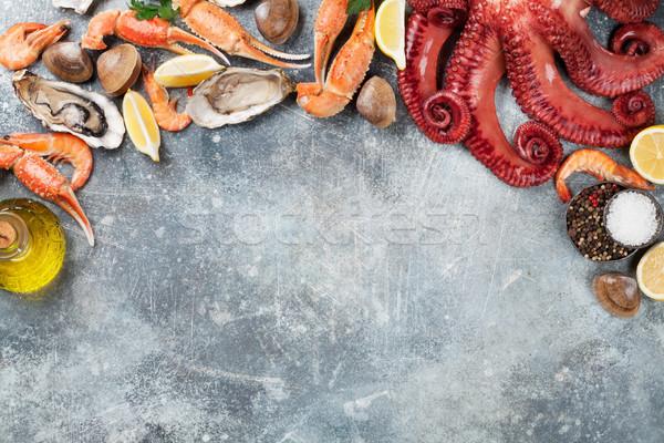 Seafood Stock photo © karandaev