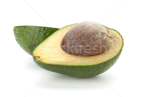 Two halves of avocado Stock photo © karandaev