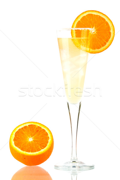 Pernod Fizz alcohol cocktail Stock photo © karandaev