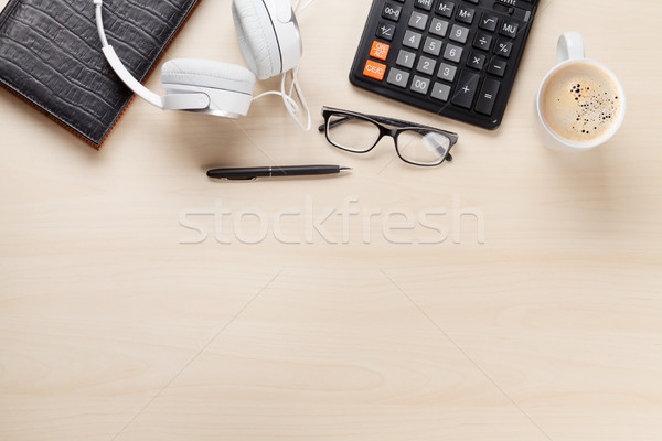 Office desk workplace Stock photo © karandaev