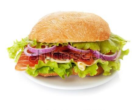 Small sandwich Stock photo © karandaev