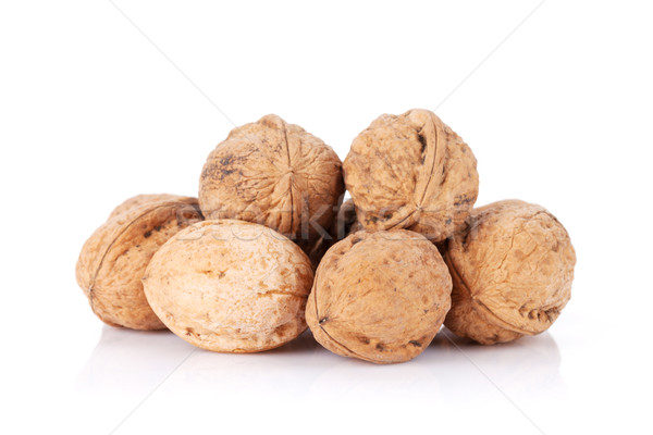 Walnut nuts Stock photo © karandaev