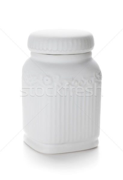 Ceramic container Stock photo © karandaev