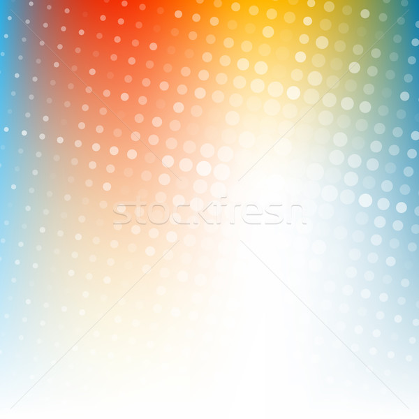 Abstract dotted colorful gradient background Stock photo © karandaev