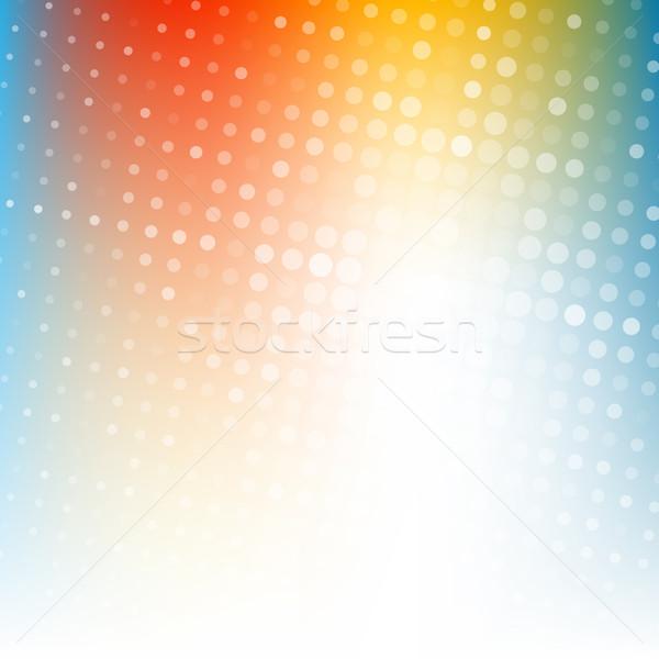 Abstract punteggiata colorato gradiente texture business Foto d'archivio © karandaev