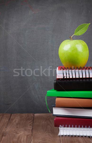 学校 事務用品 教室 表 黒板 表示 ストックフォト © karandaev