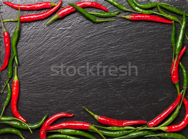 Chili peppers Stock photo © karandaev