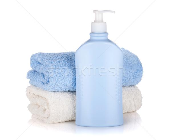 şampuan şişe yalıtılmış beyaz vücut Stok fotoğraf © karandaev