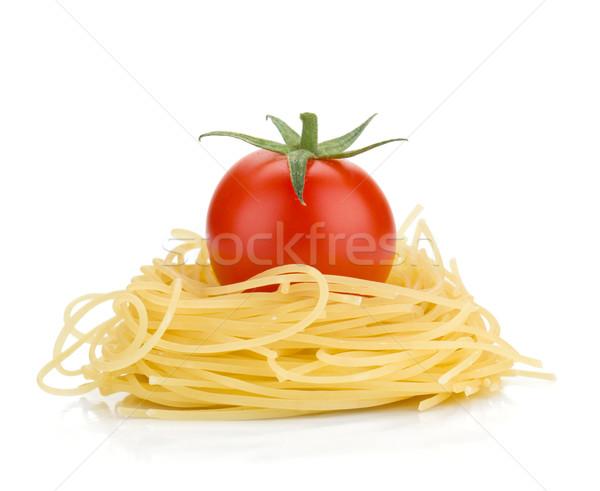 Italian pasta and cherry tomato Stock photo © karandaev