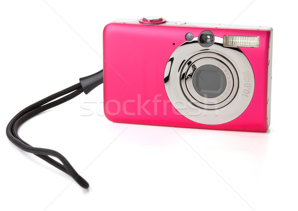 Stock photo: Compact digital camera