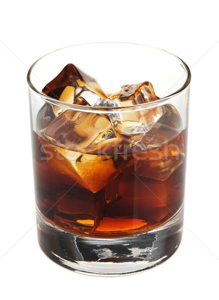 Whiskey cola cocktail Stock photo © karandaev