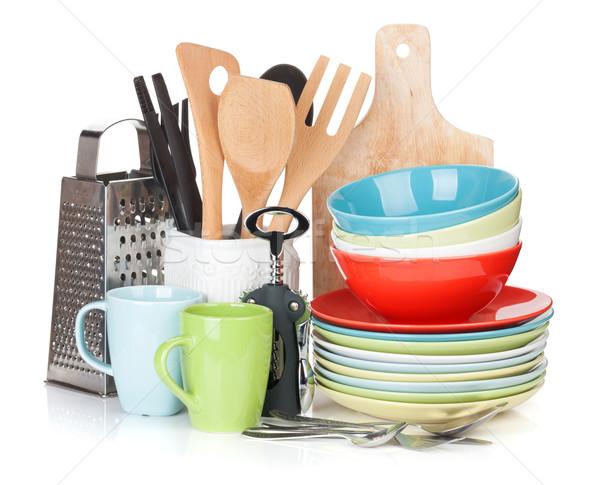 Cooking equipment Stock photo © karandaev