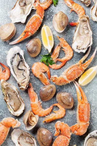 морепродуктов омаров Top мнение рыбы Сток-фото © karandaev