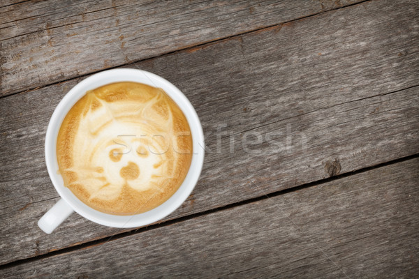 Coffee cup Stock photo © karandaev