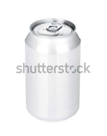 Alüminyum bira yalıtılmış beyaz gıda Stok fotoğraf © karandaev