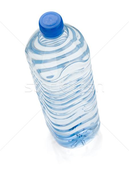 Soude une bouteille d'eau isolé blanche cool Photo stock © karandaev