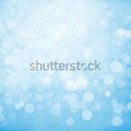 Turva bokeh natureza neve abstrato Foto stock © karandaev