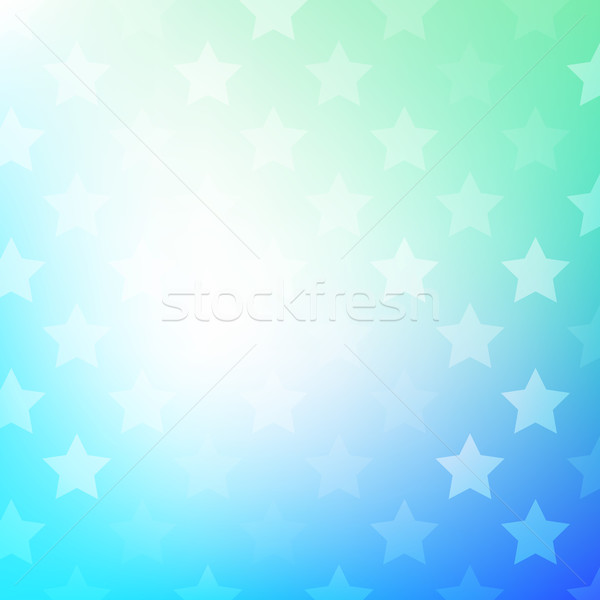 Abstract gradient background with stars Stock photo © karandaev